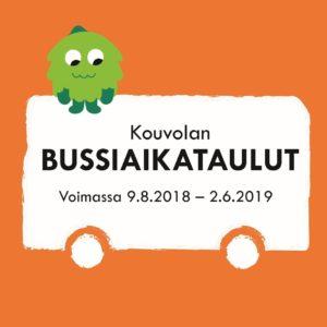 Tiedosto: Kouvolan bussien talvikauden 2018-2019 aikataulukirja