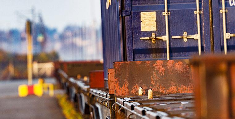 Kouvolan rautatie- ja maantieterminaali Teholan logistiikka-alueella