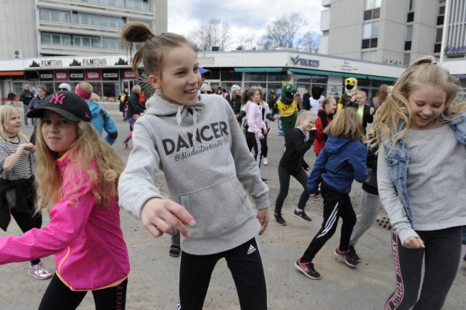 Kouvola-päivänä Kouvola-tanssi