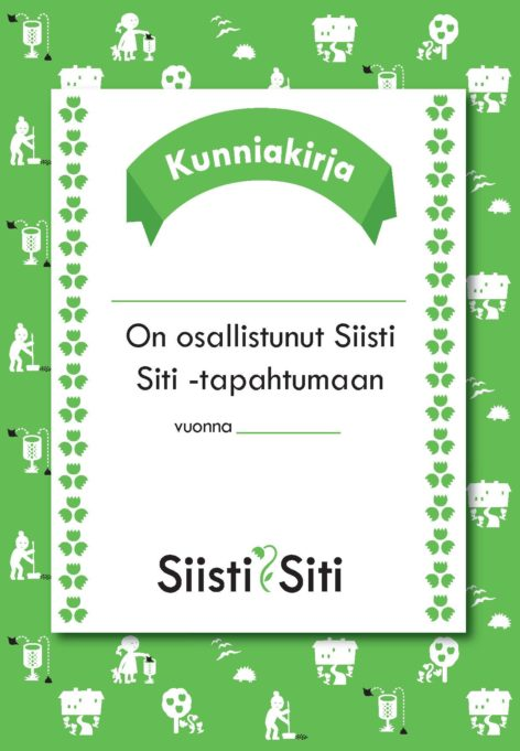 Siisti Siti -kunniakirja
