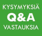 Kysymyksiä ja vastauksia palveluverkoista.