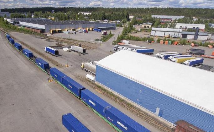 Kouvolan erinomainen logistinen sijainti ja alueen osaava logistiikkaklusteri ovat kaupungin vahvuus.