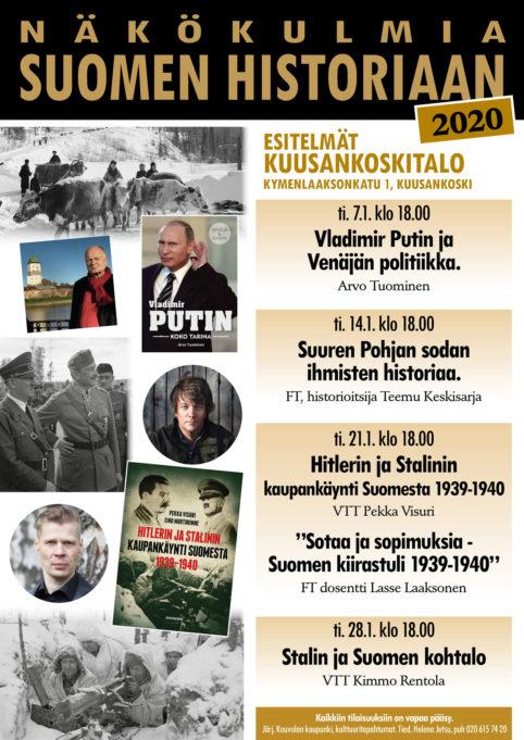 Näkökulmia Suomen historiaan esitelmäsarja