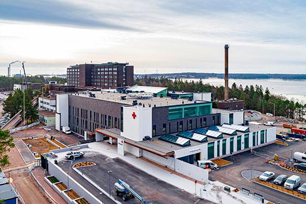 Kymenlaakson keskussairaalan laajennus