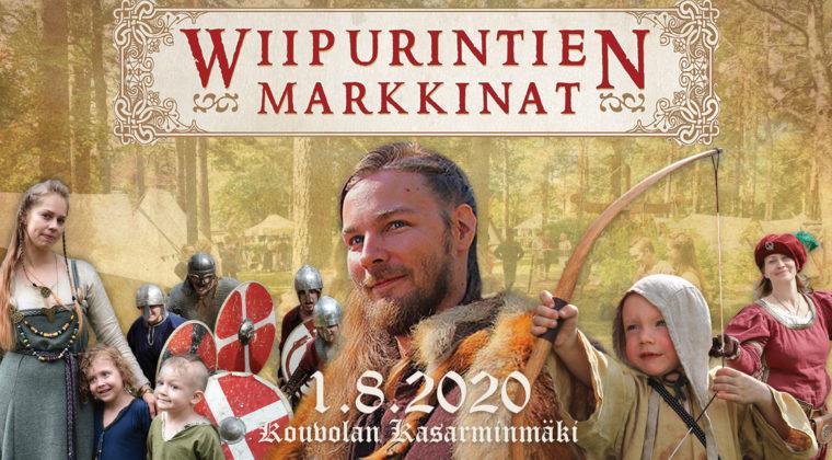 Wiipurintien markkinat 1.8.2020