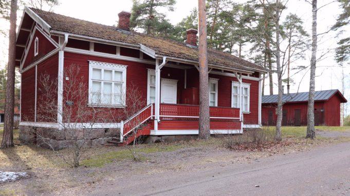 Museotalo Varpunen Stora Enson tehdasalueella