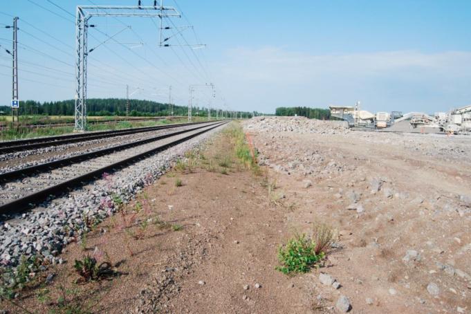 Ratakiskot RRT-alueella heinäkuussa 2021