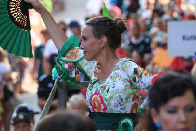 Kymen Flamenco kuva esiintymisestä.