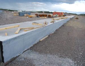 Kouvola RRT alueen yli kilometrin pituista  lastauslaiturialuetta rakennetaan.